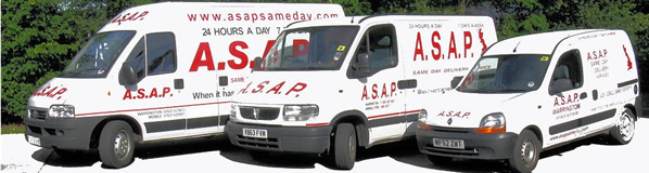 ASAP van fleet